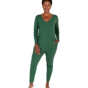 Smash and Tess size XL women's Friday long sleeve romper in evergreen NWT!